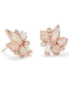 Adella Earrings in Rose Gold - Kendra Scott Weddings.
