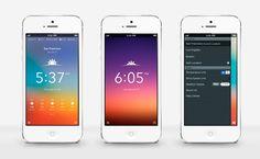 Great weather app design.