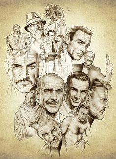 Sean Connery by NachoCastro