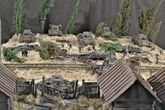 Dioramas and Vignettes: Counter-strike of 5th tank army, photo #1