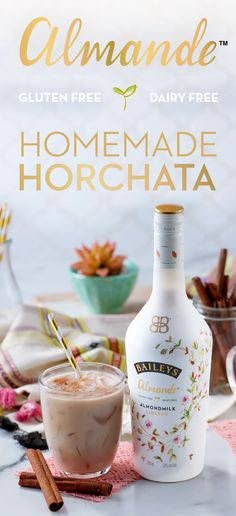 Whip up a fresh take on a traditional Latin American recipe with new dairy free, gluten free, and vegan Baileys Almande. Whether you're hosting a family gathering or celebrating with friends, this authentic classic is made to share with good company. For a light-tasting, homemade horchata, mix 2 oz Baileys Almande, ¼ cup honey, ¼ tbsp. ground cinnamon, ¼ tbsp. vanilla extract, and a dash of nutmeg. ¡Salud!