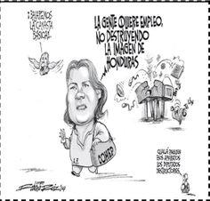 Nuestra caricatura de hoy 24 de enero por Roberto Ruiz en #LaTribuna
