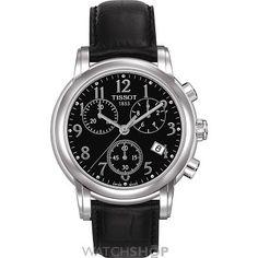 Ladies Tissot Dressport Chronograph Watch T0502171605200