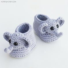 http://www.ravelry.com/patterns/library/ellie-the-elephant-baby-booties