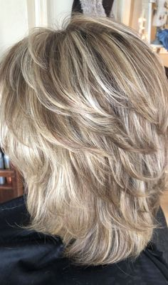 46 creative ideas for layered hairstyles - layered hair # hair # s . - 46 creative ideas for layered hairstyles – layered hair - Medium Layered Haircuts, Medium Hair Cuts, Short Hair Cuts, Medium Hair Styles, Curly Hair Styles, Short To Medium Hair, Women Hair Cuts, Women Hair Styles, Medium Hair With Layers