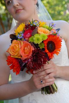 One of our fall bouquets.