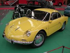 Renault Alpine YELLOW