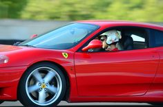 La nostra Ferrari 360 in pista!!!