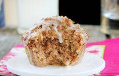 vegan coffeecake-style muffin - single-serving recipe for oven or microwave in a mug or ramekin (should be a fun experiment)