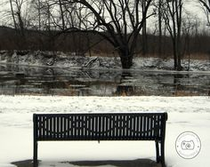Ice over the grand river in Ionia, MI  ©Christianson-Fox Photography 2012