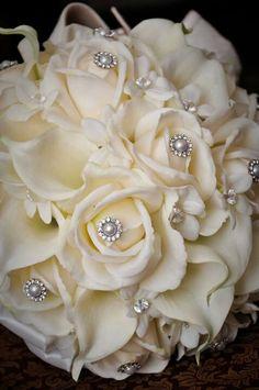 Bridal Brooch bouquet, scarpaci photography