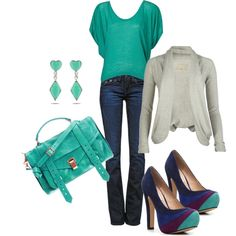 . akasten06. Cute but I'd add some dark blue or some purple to pul the colors of the shoes in more.