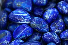 Lapis lazuli is a deep blue semi-precious stone. You can find beautiful and unique jewellery made of this stone such has rings, brazelets, necklaces, earings. And different ornaments as well.