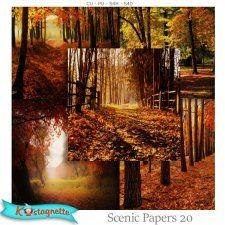 Scenic Papers 20 by kastagnette autumn #CUdigitals cudigitals.com cu commercial digital scrap #digiscrap scrapbook graphics