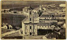 A Krisztin téri templom és környéke 1865