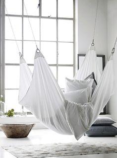 Indoor Hammock Ideas//