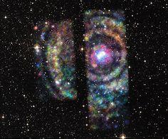 The latest image of an interstellar rainbow
