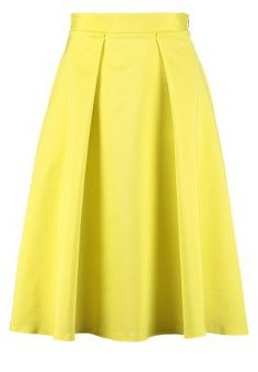 Found this on and have fallen in love. Color Pop App, Colour, Pleated Skirt, Sunshine, Yellow, Skirts, Outfits, Fashion, Color