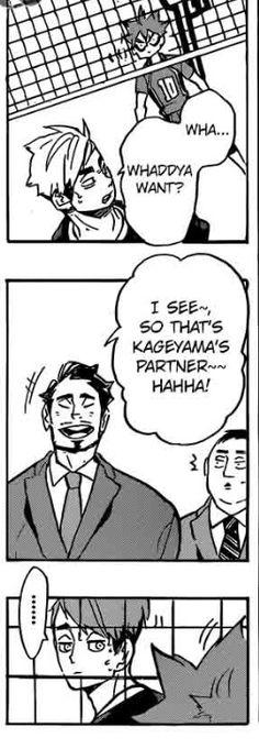 He ships them  #Kagehina