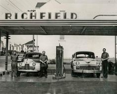 Images - Western Neighborhoods Project - San Francisco History Richfield Stations on Noreaga