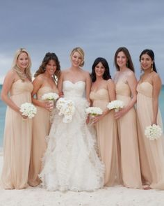 nude bridesmaid Sandy in