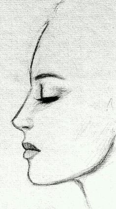 best cute drawings, anime drawings, drawing people of techniques, great examples of pencil drawings. Cool Drawings, Drawing Sketches, Drawing Tips, Drawing Hair, Drawings Of Faces, Drawing Drawing, Beginner Drawing, Drawing People Faces, Simple Pencil Drawings