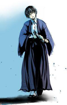 Tags: Anime, Fanart, Sketch, Rurouni Kenshin, Pixiv Seta Soujirou
