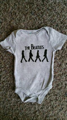 The Beatles Onesie Music Onesie Rock Onesie Hip Baby Clothes
