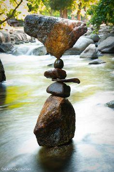 The Art of Rock Balancing by Michael Grab @ gravityglue.com