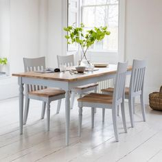 Hudson Living Marlow Dining Table and Chairs. Nordic design dining room by Modish Living. Buy Dining Table, Oak Dining Sets, Oak Table, Dining Chairs, Kitchen Tables, Dining Area, Reclaimed Wood Dining Table, Reclaimed Wood Furniture, Rustic Furniture