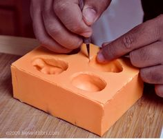 "How to make a ""pour in"" silicone mold ~ great tutorial   #diy #craft #howto #tutorial #mold"