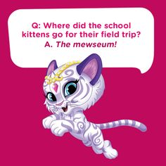 -Check out this silly kids joke: Where did the school kittens go for their field trip? The mewseum! Check out this silly kids joke: Where did the school kittens go for their field trip? The mewseum! Cute Jokes, Funny Jokes For Kids, Kid Jokes, Kids Humor, School Jokes, Pregnancy Jokes, Daily Jokes, Work Jokes, Jokes And Riddles