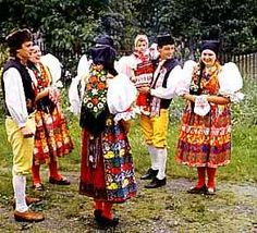 Some history of czech costume