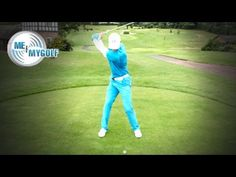 STOP HANGING BACK AND SLICING THE GOLF BALL - YouTube