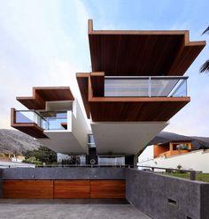 Designed by Longhi Architects in La Planicie, Lima, Peru.