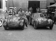1947 Cisitalia 202 MM Nuvolari Spider and Berlinetta Cassone