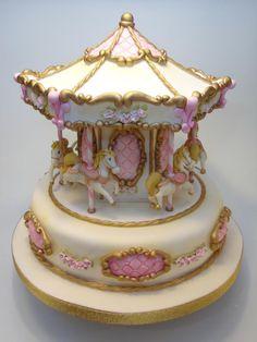 carousel pony cake
