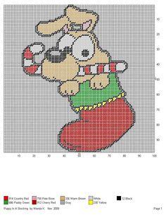 Plastic Canvas Christmas, Plastic Canvas Crafts, Plastic Canvas Patterns, Cross Stitch Pattern Maker, Cross Stitch Patterns, Christmas Animals, Christmas Cross, Cross Stitch Cards, Craft Patterns