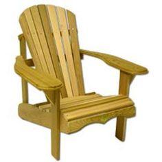 Bear Chair Cedar Chair Kit