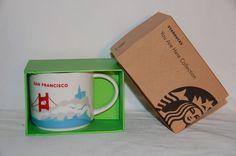 Starbucks Mug You Are Here Collection SAN FRANCISCO 2013 NIB #Starbucks