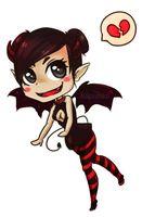 Hellgirl (chibi) by Aikoishika by Perfidus