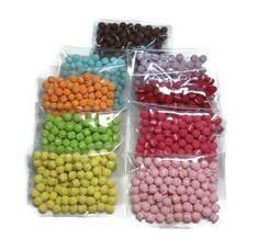 Miniature Macaron Mix Colors  900pcs  5mm  LOT200 by SweetieTiny, $359.00