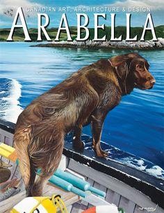 Arabella magazine 2013 Spring Awakenings  cover!