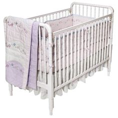 Simply Shabby Chic® Baby Scallop Rose Baby Girl Crib Collection.
