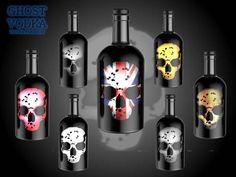 Monster Vampire, Skeleton Pumpkin, Spooky Halloween, Vodka Bottle, Liquor, Bar Stuff, Hot Shots, Drinks, United Kingdom