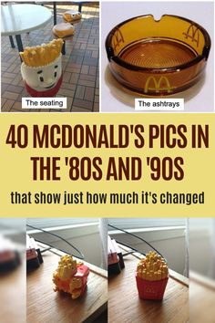 McDonald's has changed so much. Cool Pins, Good Jokes, Do You Remember, Mcdonalds, Fun Facts, Healthy Recipes, Cooking, Birthday Parties, Playground
