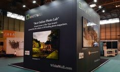 White Wall at The Photography Show by Quantum Exhibitions