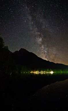 crossing the milky way by Helmut R. Kahr, via 500px