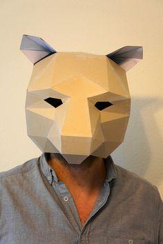papercraft mask www.wintercroft.com