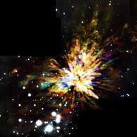 El mayor espectáculo de fuegos artificiales del cosmos - Quo